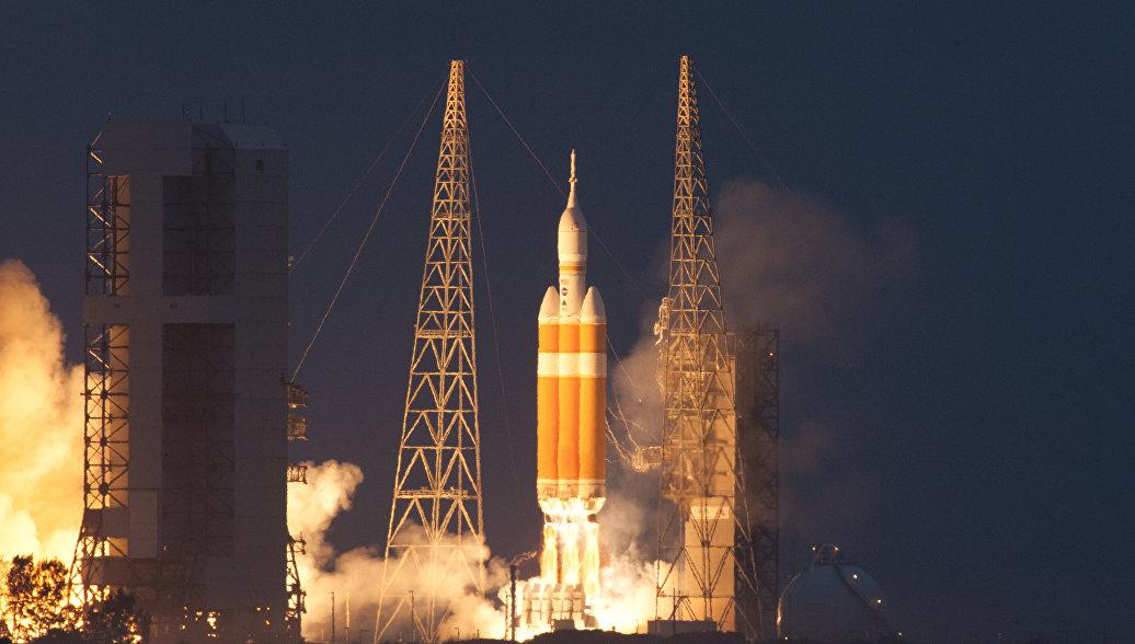 В США запустили ракету-носитель Delta IV с военным спутником