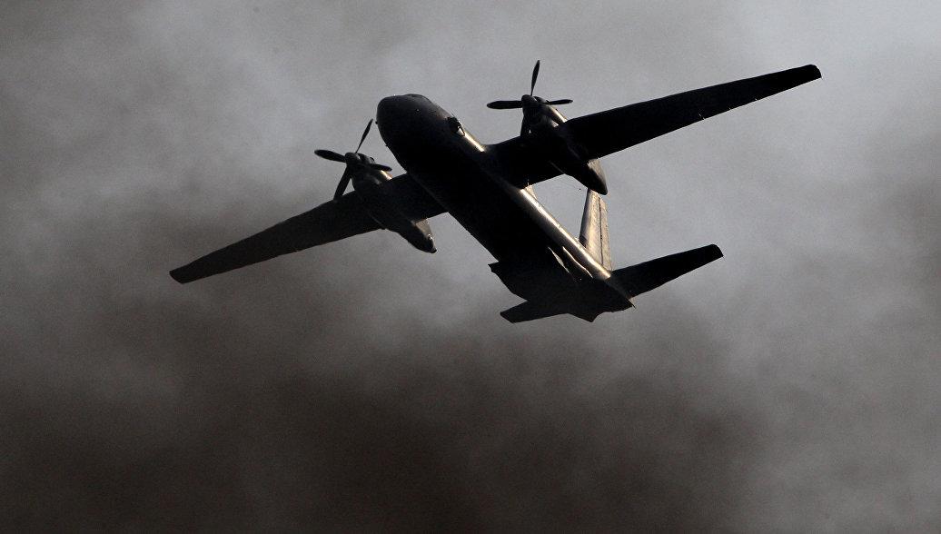 В Ленобласти экипажи Ан-26 отрабатывают бомбометание на полигоне Кингисепп