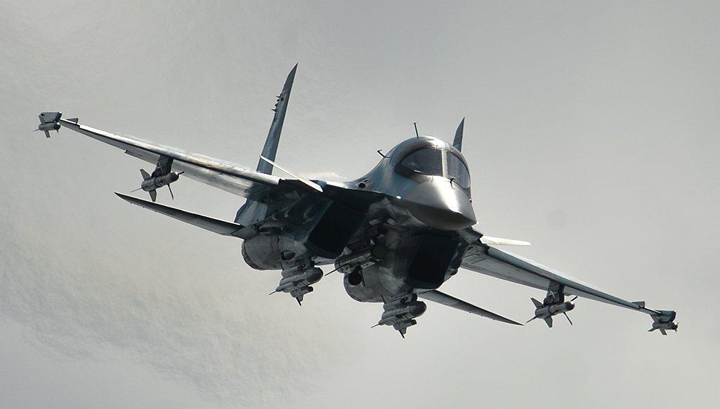 Бомбардировщики ВВО уничтожили наземные цели