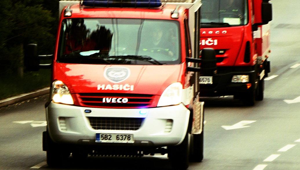 Пожар в гостинице в Праге потушен
