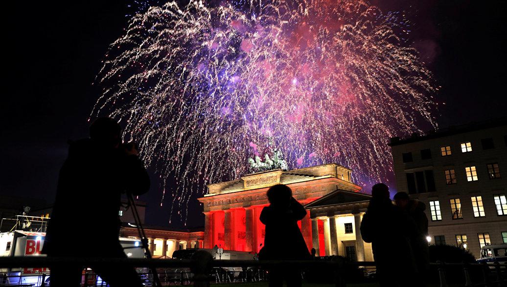 Берлинская полиция сообщила о случаях домогательств в новогоднюю ночь
