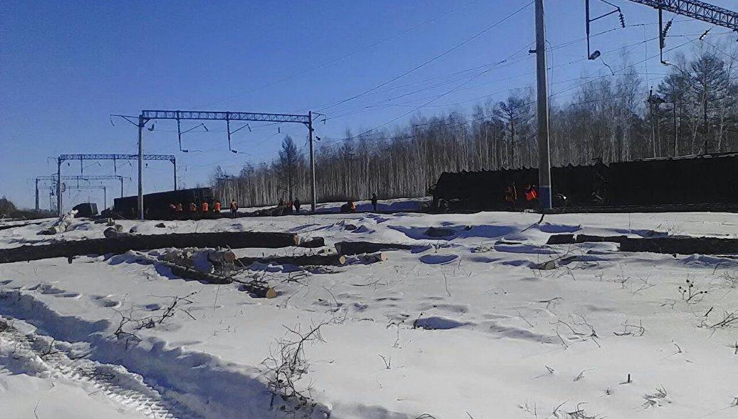 В Приамурье восстановили движение на железной дороге