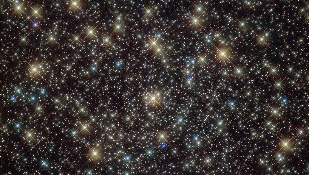 NASA показало уникальное звездное скопление в созвездии Парус