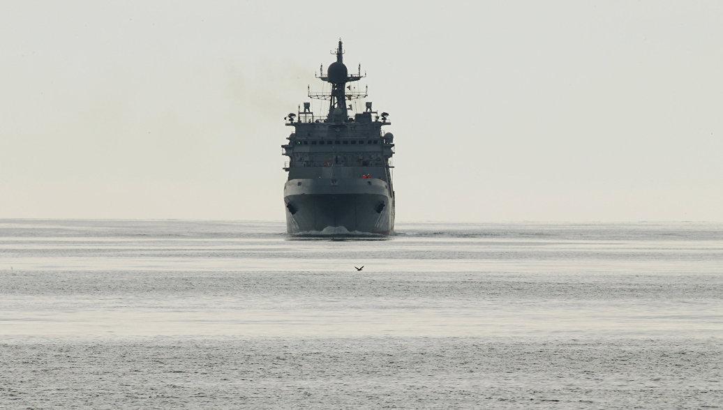 В ОСК перенесли передачу первого десантного корабля проекта
