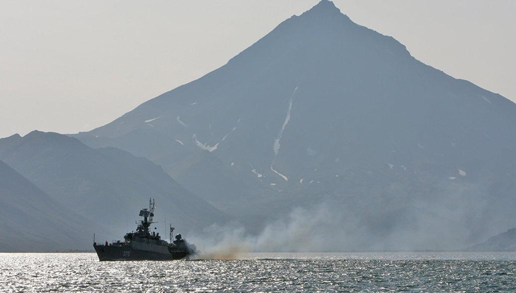 Отряд кораблей Тихоокеанского флота покинул Шанхай