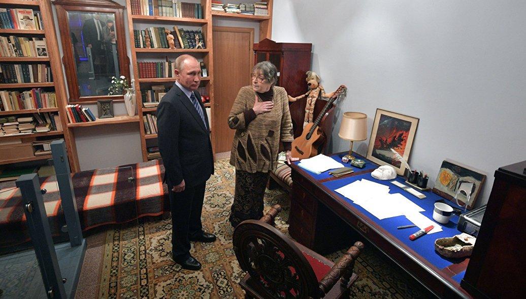 Путин высоко оценил музей Владимира Высоцкого на Таганке