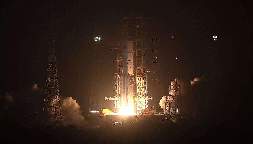 Китай осуществил успешный запуск ракеты-носителя с шестью спутниками