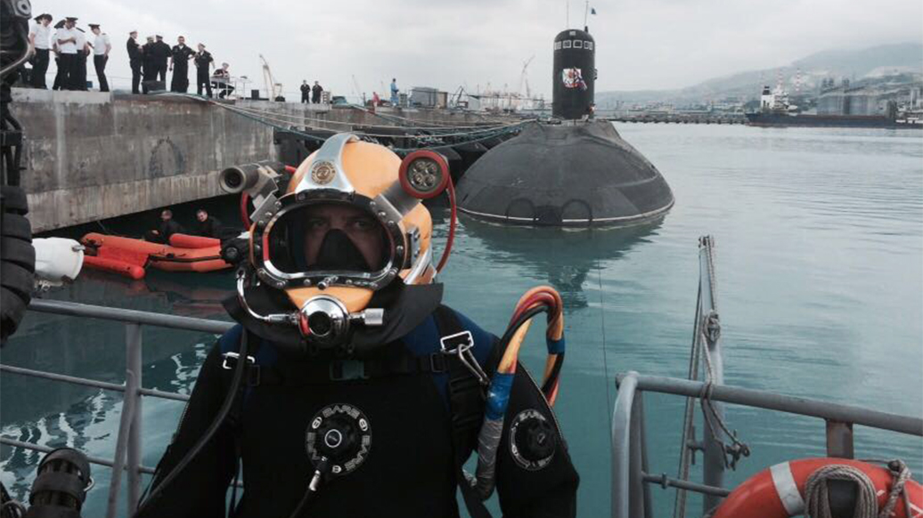 Российские водолазы проведут тренировки на глубине более четырехсот метров