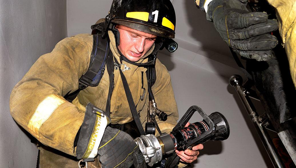 Возгорание в Военно-морском институте в Петербурге ликвидировано