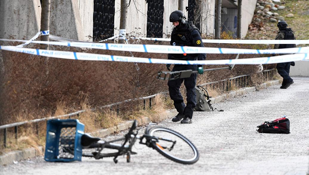 В Стокгольме назвали причину взрыва у станции метро