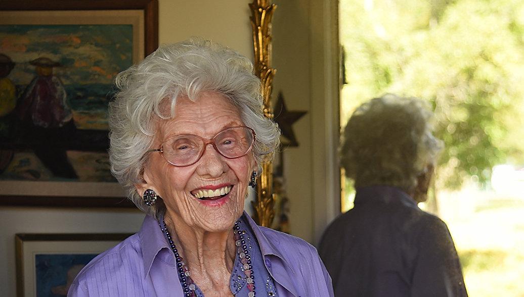 Скончалась самая пожилая актриса Голливуда