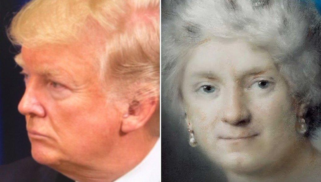 Трамп кисти Рубенса: нейросеть нашла музейных двойников известных политиков