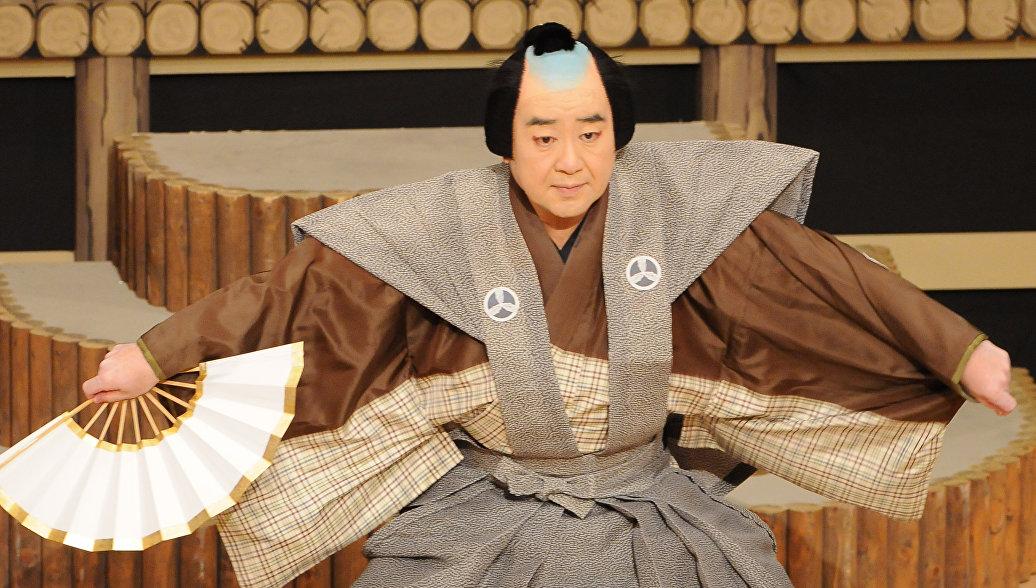 Гастроли знаменитого японского театра Кабуки пройдут в России в сентябре