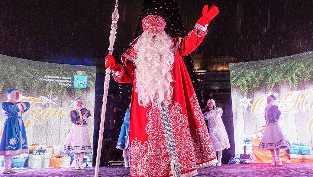 Дед Мороз может получить посох из древесины кремлевской елки