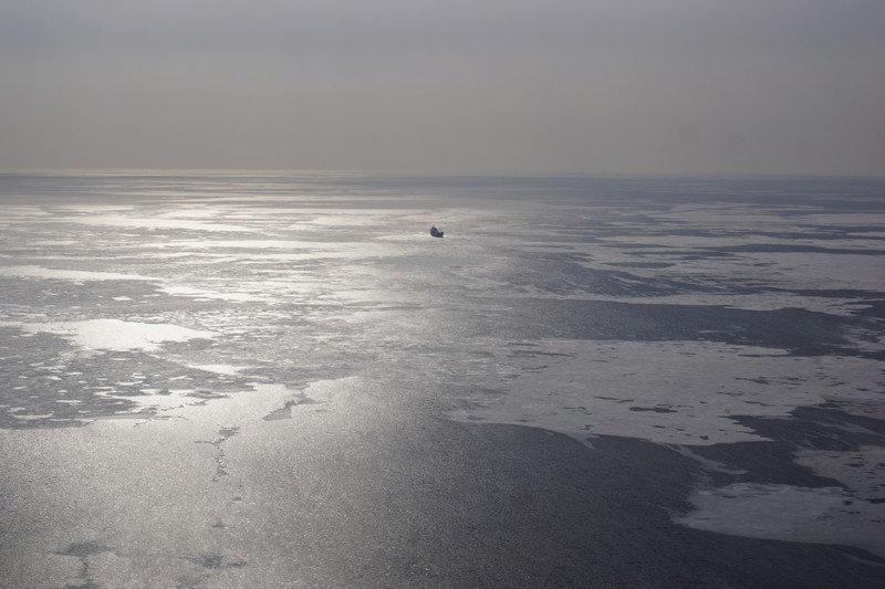 В Японском море авиация возобновила поиски пропавшего судна