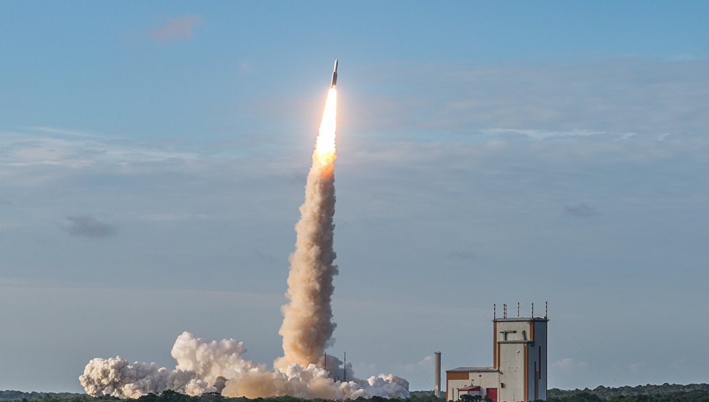 Arianespace объявила о потере связи с ракетой-носителем