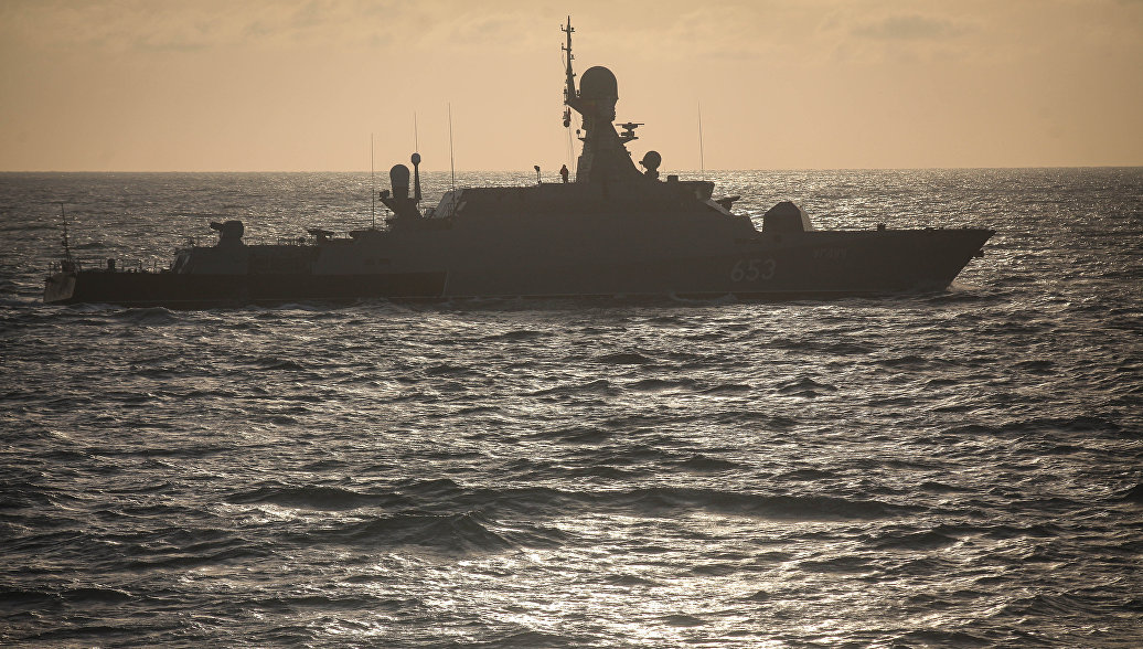 В Махачкале прошли учения по задержанию условных подводных диверсантов