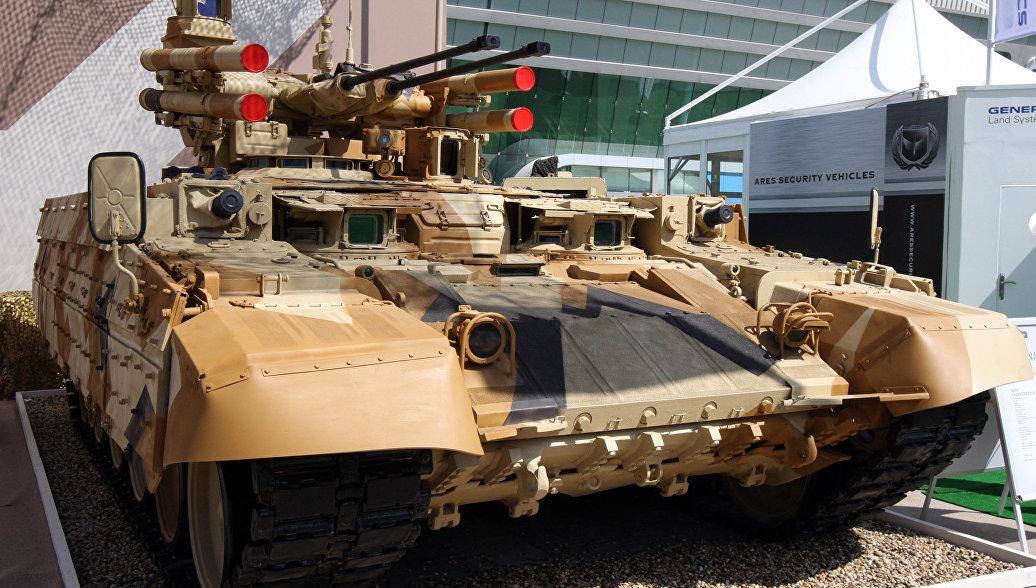 Русская армия вскором времени будет снабжена «Терминаторами»