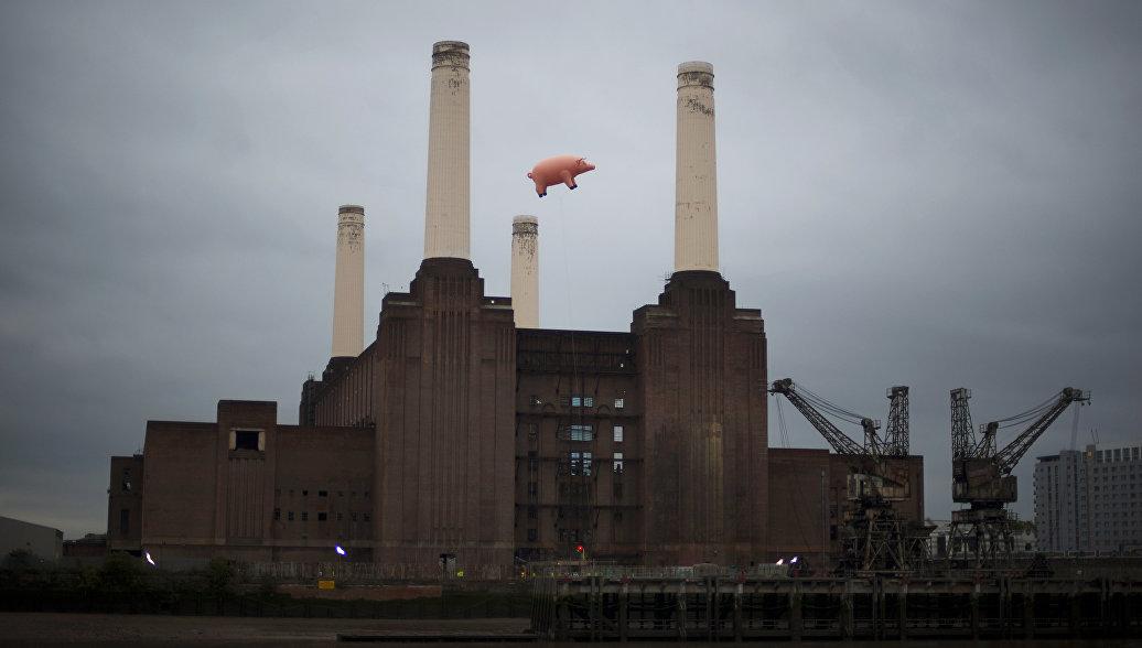 В Лондоне продадут электростанцию с обложки альбома Pink Floyd