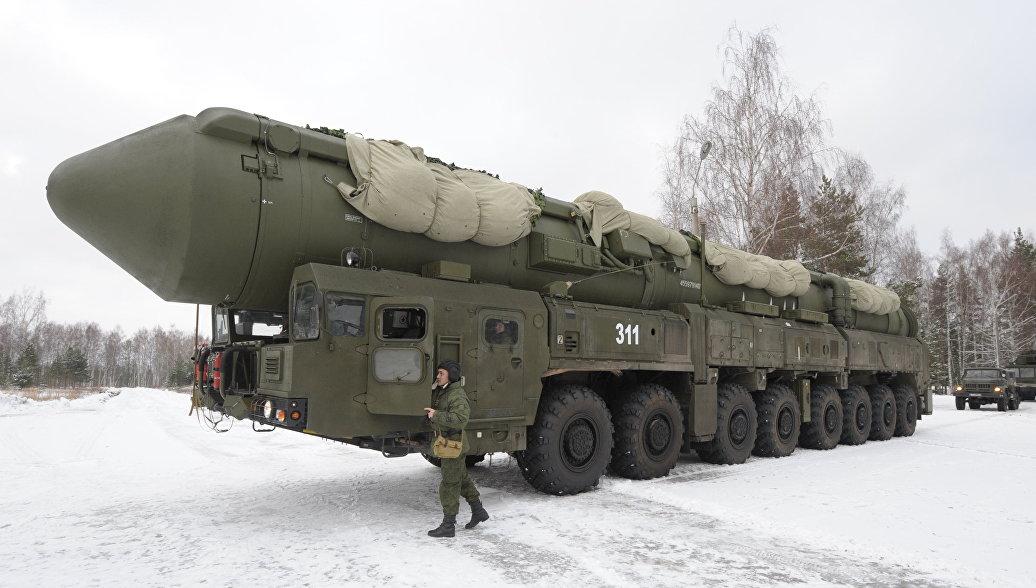 На учениях РВСН заступили на дежурство ракетные полки с комплексами