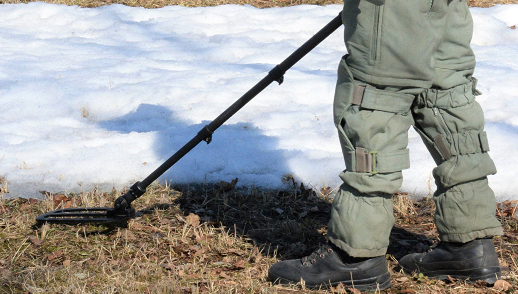 В России обезвредили 370 тысяч снарядов и мин