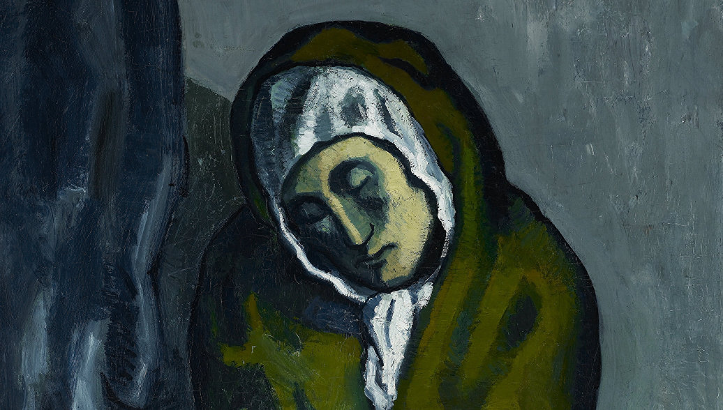 Под картиной Пикассо нашли перевернутый пейзаж другого художника