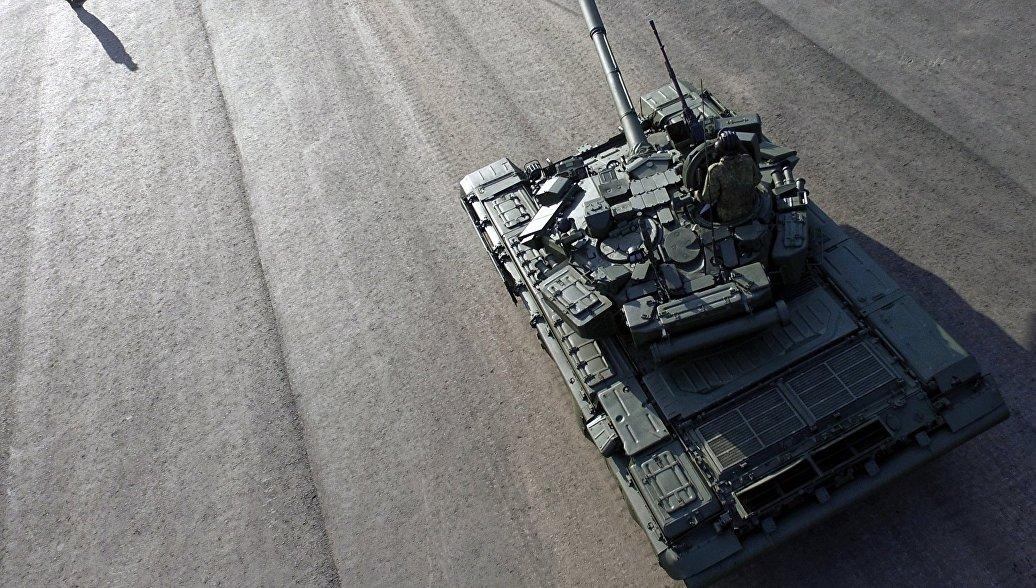 Россия отправила в Ирак первую партию танков Т-90