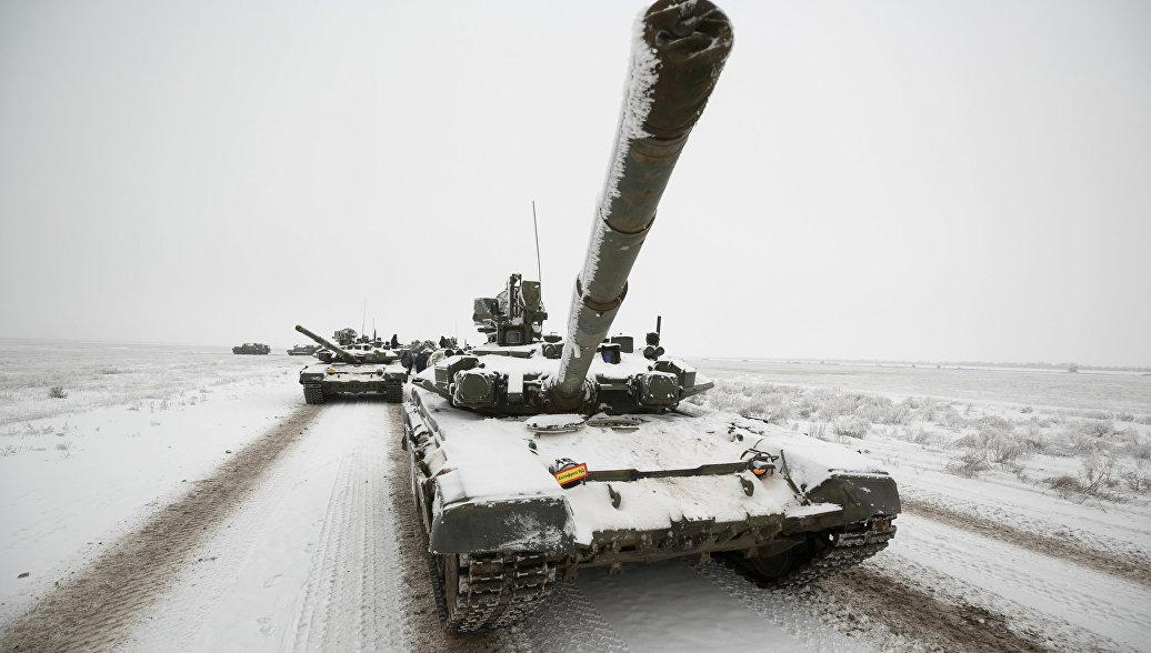 ЮВО получит партию модернизированных танков Т-72Б3