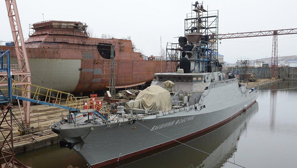 ВМФ может в марте получить малый ракетный корабль