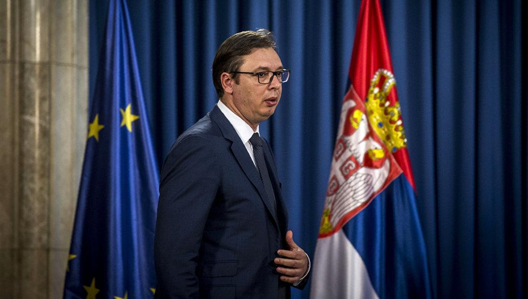 Сербия не поддержит санкции Запада в отношении России, заявил Вучич