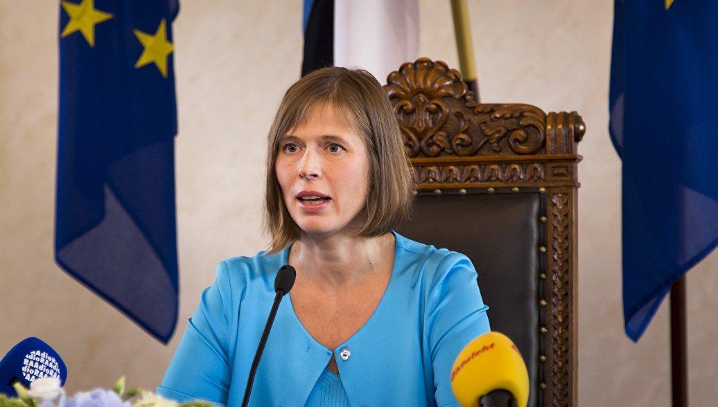 Президент Эстонии неоднозначно оценила отношения с Россией