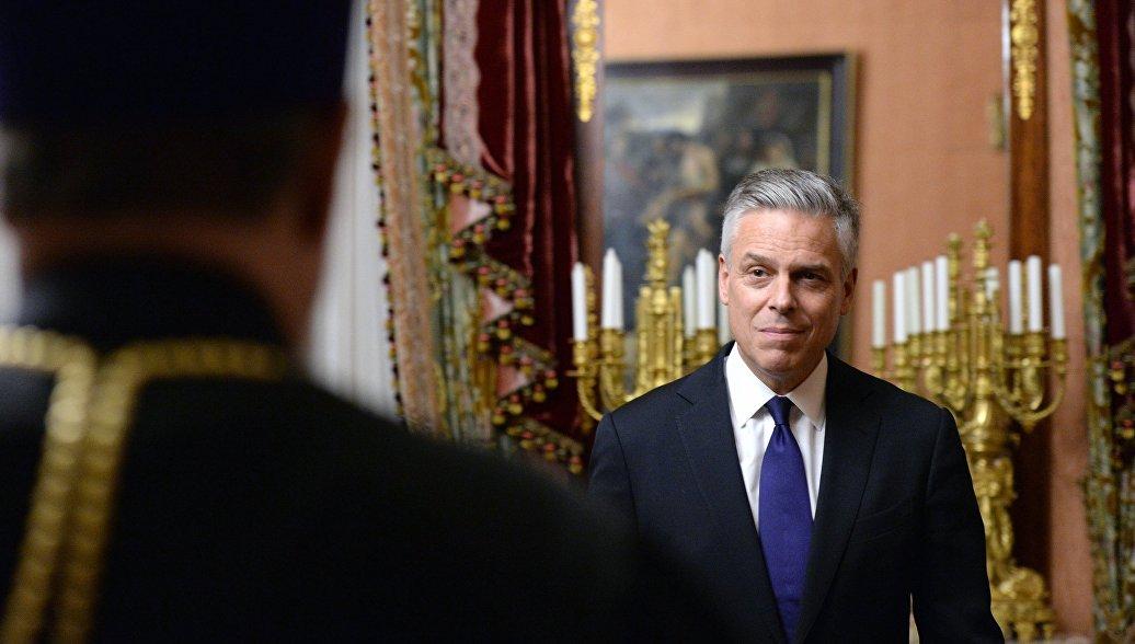 Глава ГенштабаВС РФпровел переговоры спослом США в российской столице