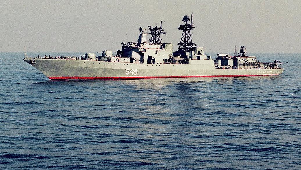 Пострадавших при пожаре на корабле ТОФ во Владивостоке нет