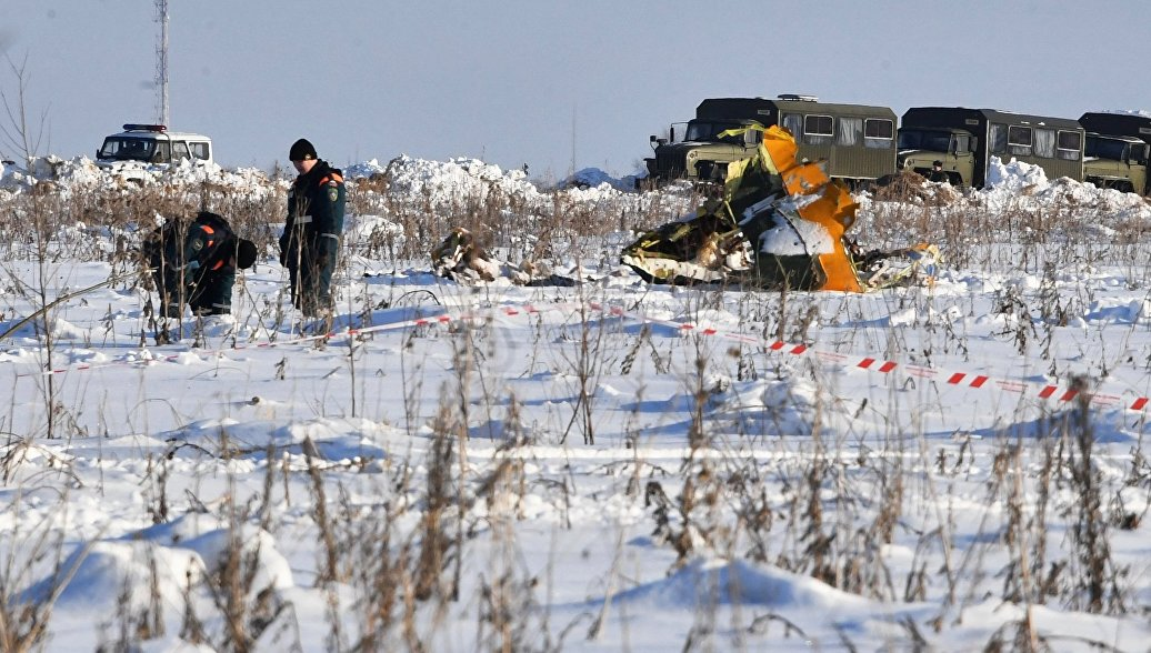 СМИ узнали о действиях пилотов Ан-148 перед крушением