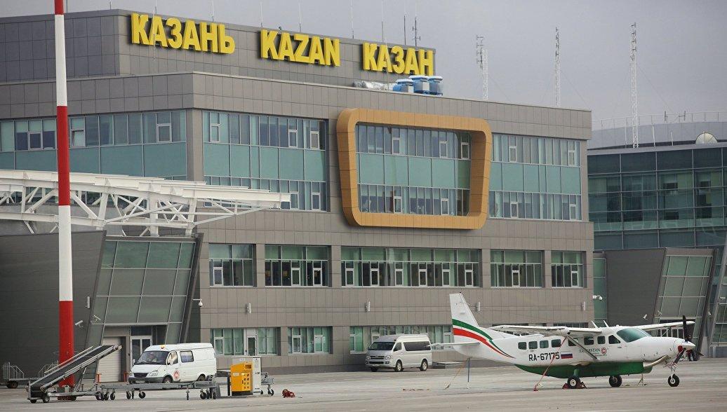 Чартерный самолет повредил шасси при посадке в Казани