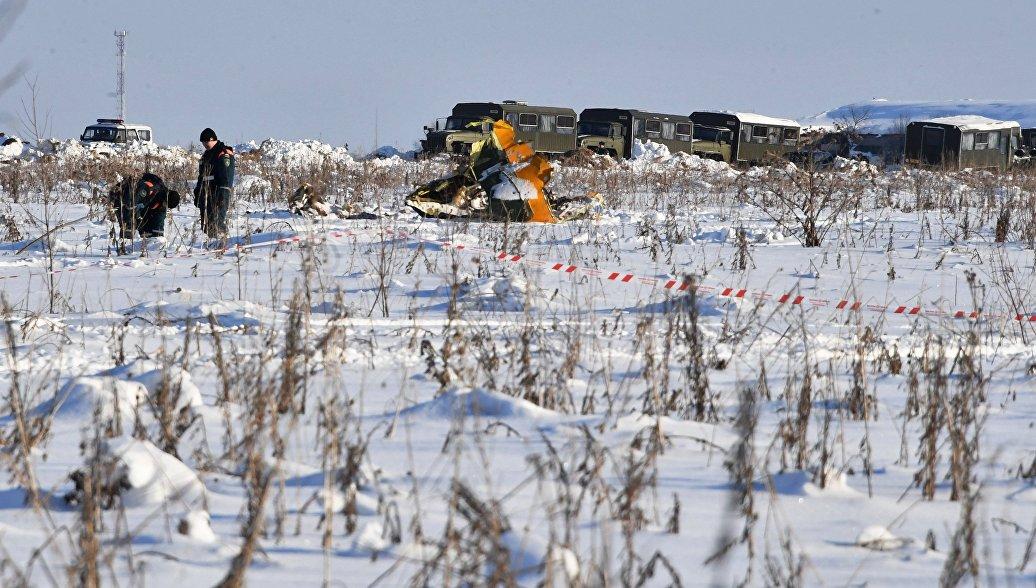 Командир разбившегося Ан-148 имел действующее заключение летной комиссии