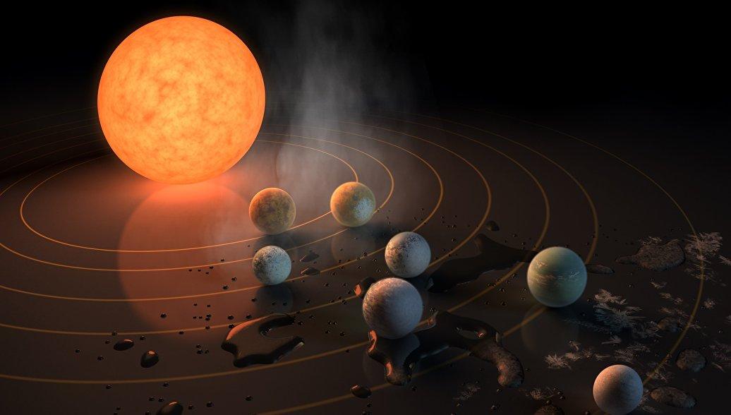Астрономы нашли воду и воздух на ближайших