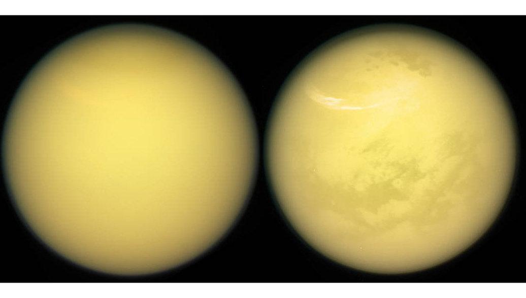 На спутнике Сатурна обнаружили признаки жизни