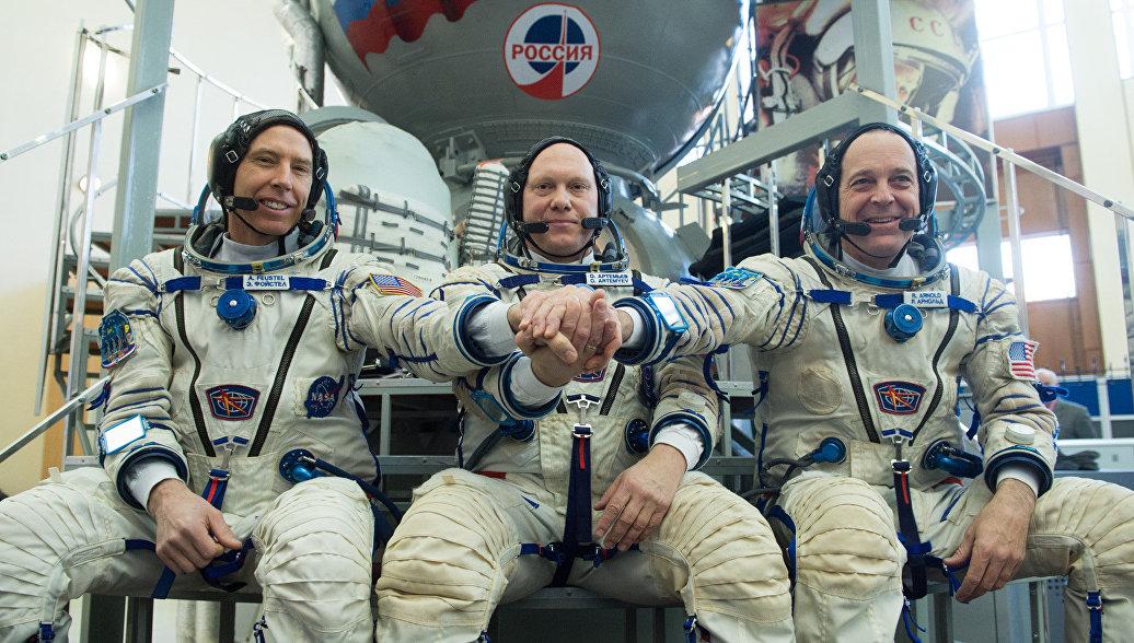 Космонавт назвал талисманы новой экспедиции на МКС