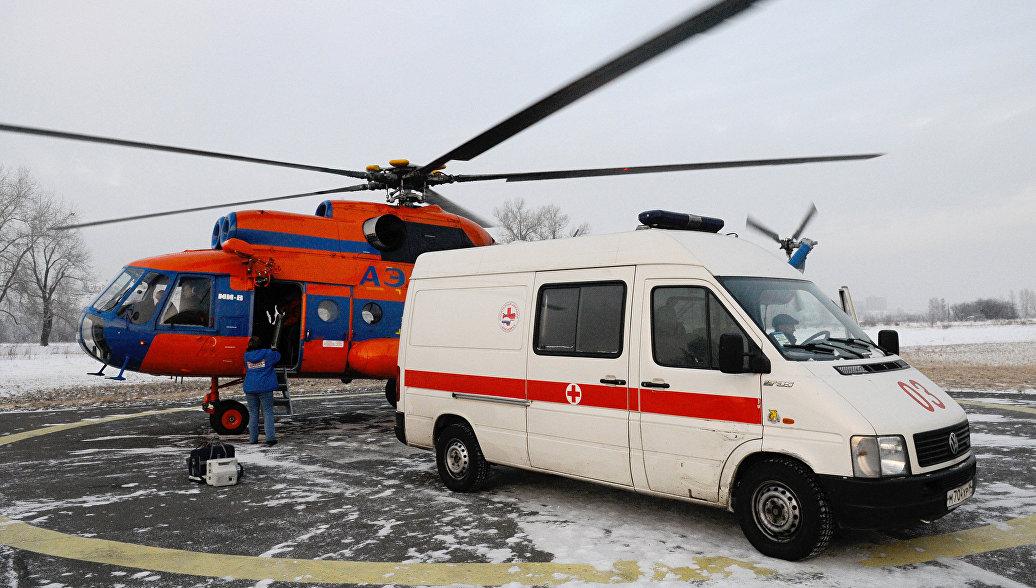 Санавиация доставила в Красноярск 12 пострадавших в ДТП в Кузбассе
