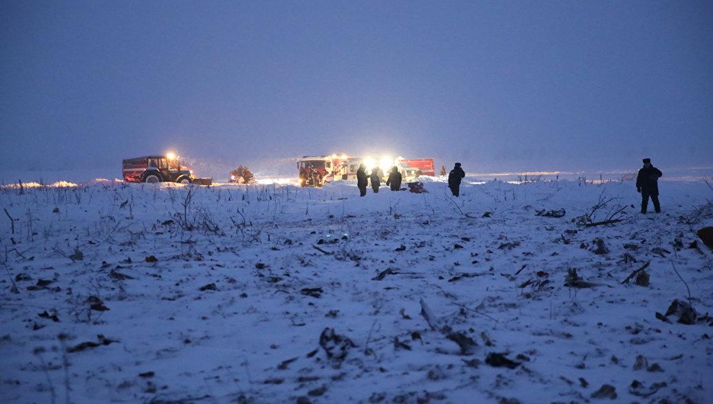 Более двух тысяч обломков нашли в районе крушения Ан-148 в Подмосковье