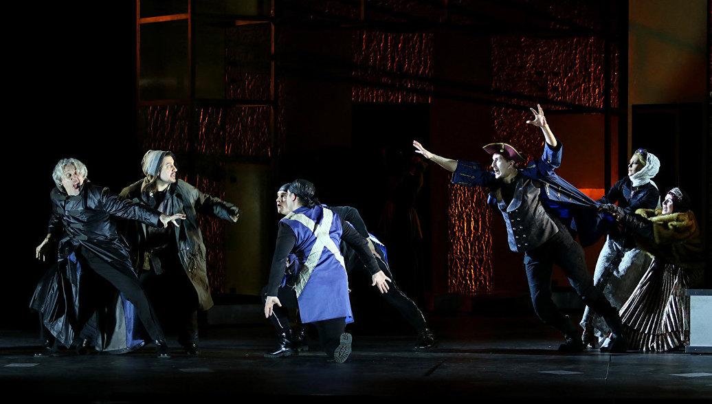 РАМТ представит спектакль по произведениям Пушкина, Булгакова и Акунина