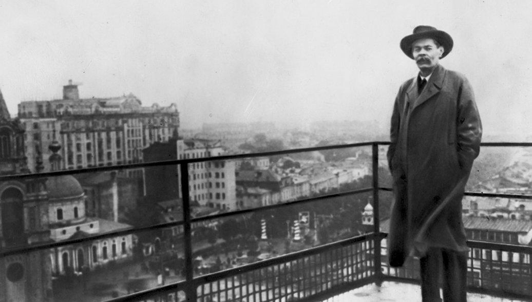 Имя Максима Горького известно почти каждому россиянину, выяснил ВЦИОМ