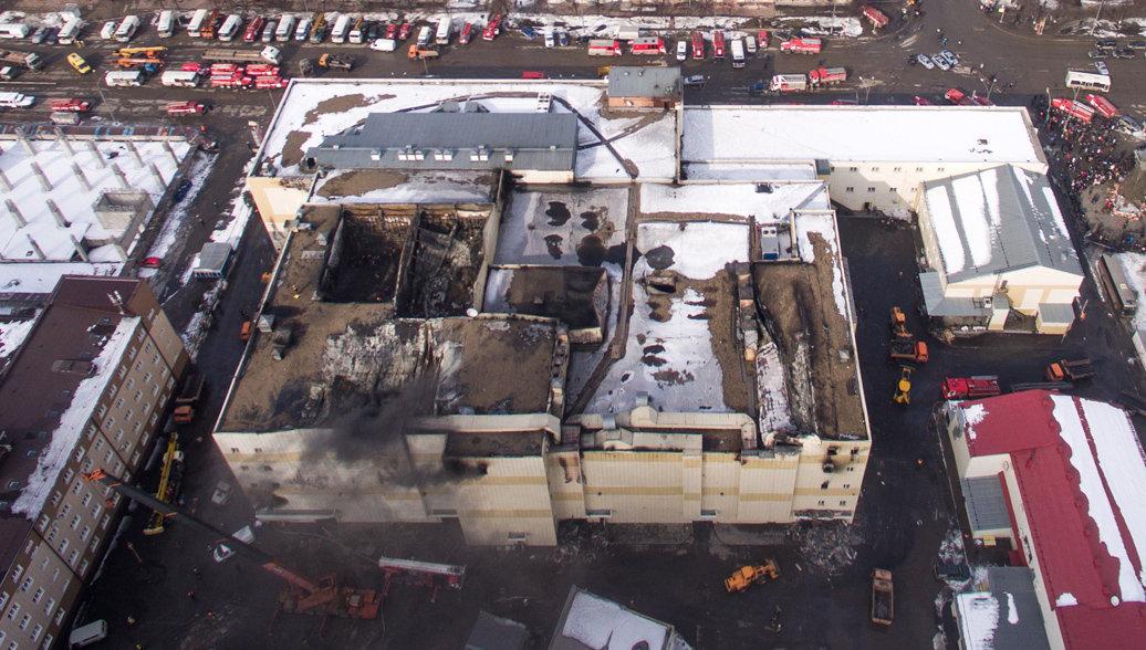 В Кемерово опознали 25 жертв пожара в ТЦ