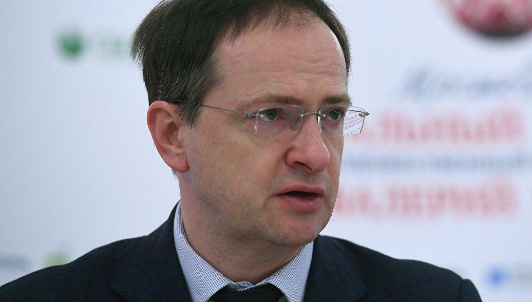 Мединский предложил снять фильм про российских спортсменов на ОИ-2018