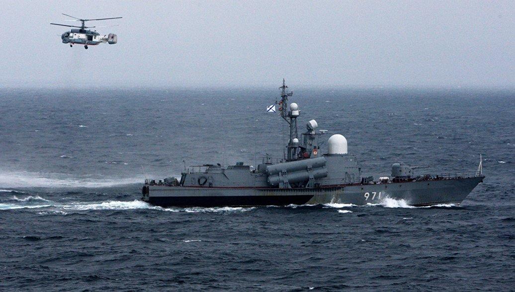 Три катера ЧФ на учениях уничтожили отряд кораблей условного противника