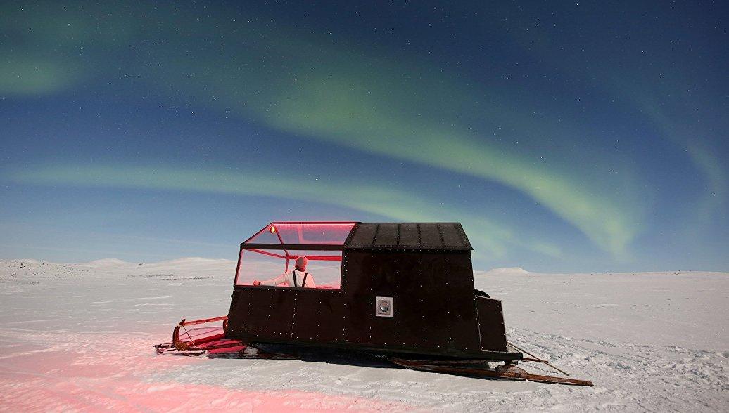 В Финляндии появился отель на лыжах