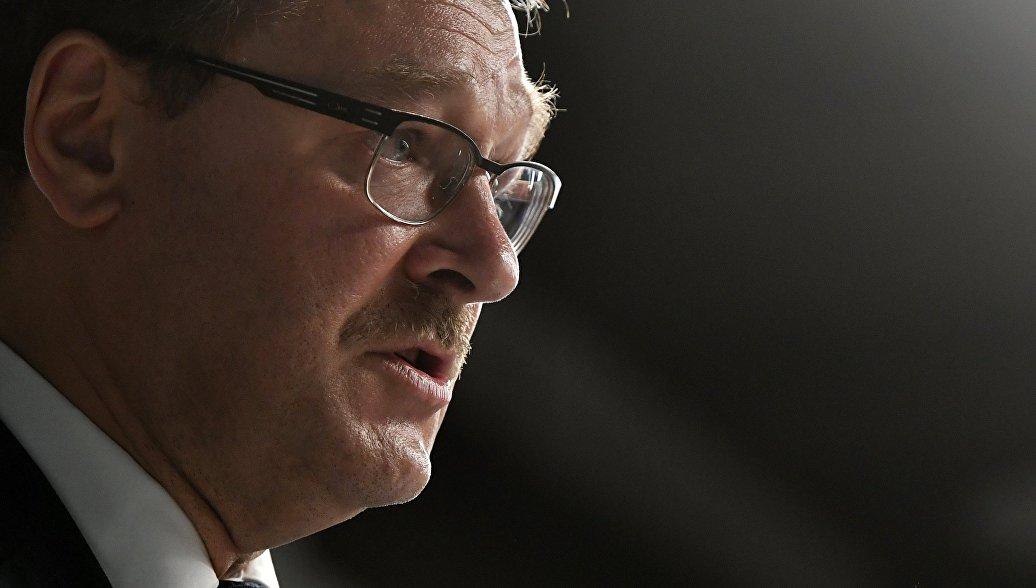 Американские политики боятся не лжи и кибератак, а правды, заявил Косачев