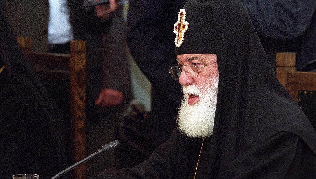 Патриарх Грузии направил Путину соболезнования в связи с трагедией в Кемерово