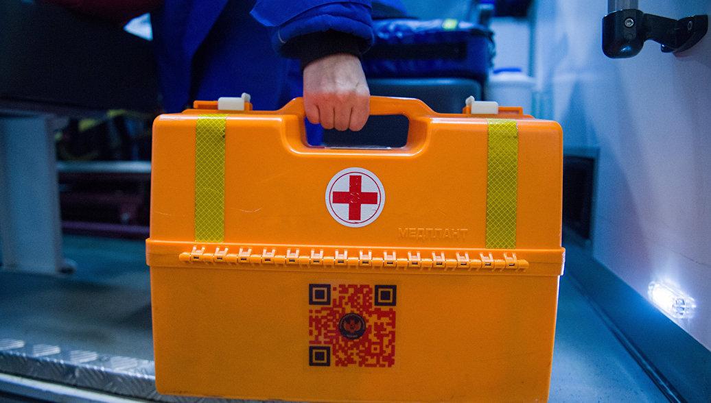 В Ленобласти в ДТП со скорой пострадали фельдшер и пациент